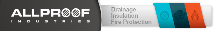 Allproof Industries: drainage, insulation, fire protection