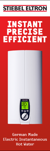 Stiebel Eltron – German Made Electric Instantaneous Hot Water