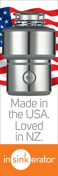 InSinkErator: Made in the USA. Loved in NZ
