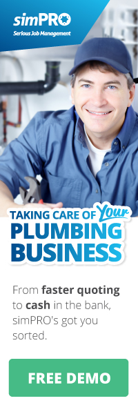 simPRO - taking care of your plumbing business