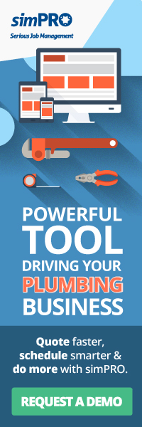 Request a demo on simPRO—A powerful tool driving your plumbing business