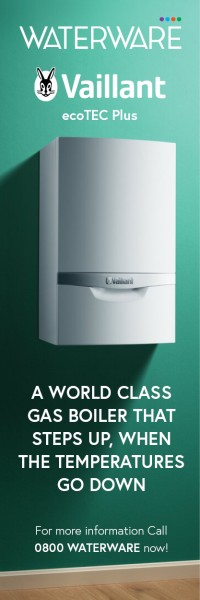 Vaillant ecoTEC Plus: a world-class gas boiler from Waterware that steps up when the temperatures go down