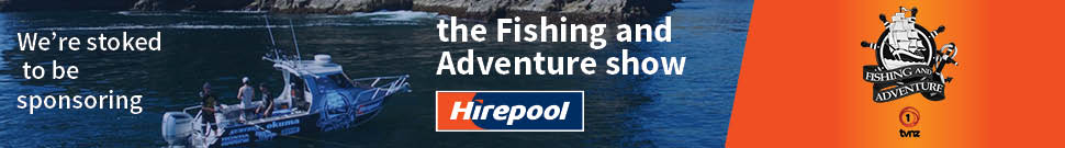 Hirepool is stoked to be sponsoring the Fishing & Adventure show