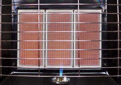Infrared gas heater close up 638575198 5472x3648