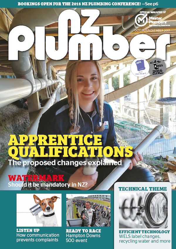 Cover NZ Plumber OctNov17 Lo res
