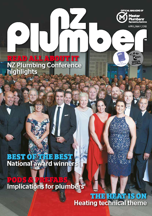 Cover from NZ Plumber April May18 lo res