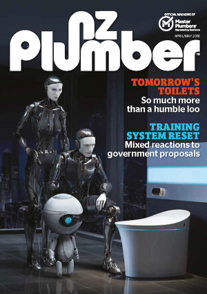 Cover from NZ Plumber April May 19 lo res